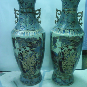 beautiful vases  - Asian