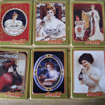 Coca Cola Collector trays