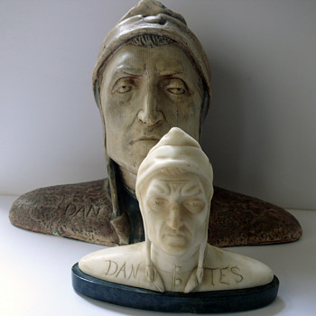 Dante Alighieri busts