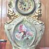 possibly a 1900 Ansonia Clock w/ Royal Bonn Porcelain Case