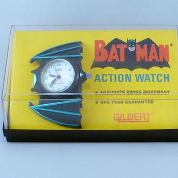 Gilbert 1966 Batman wrist watch