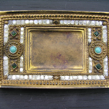 Tiffany Studio Dore Bronze Pin Tray? - Art Nouveau