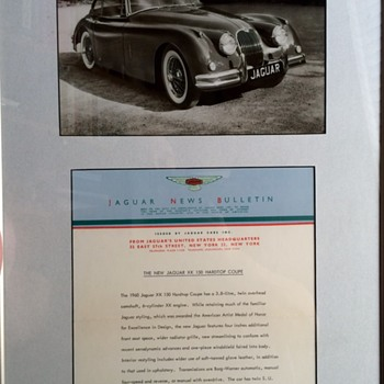 JAGUAR NEWS BULLETIN THE NEW JAGUAR XK 150 CONVERTABLE AND HARDTOP COUPE  - Classic Cars