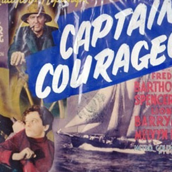 Captains Courageous Lobby Card - Movies