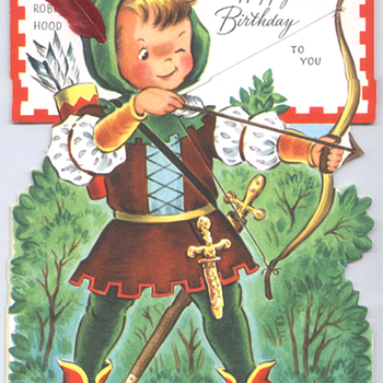 Robin Hood | Fairfield Birthday Story Card