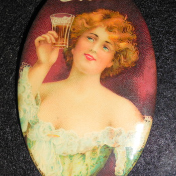 1907 Coca-Cola Pocket Mirror
