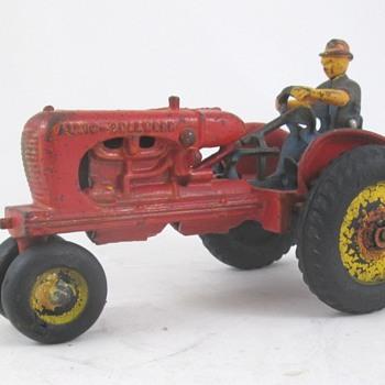 Arcade Allis Chalmers Toy Tractor