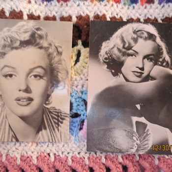 Old photos of Marilyn Monroe!