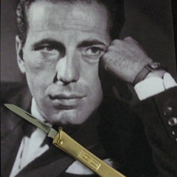 Personal Pocket Knife of Humphrey Bogart - Gold