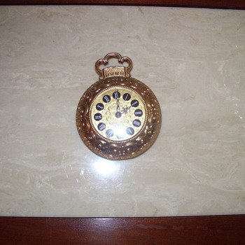 Mauthe West Germany Small Clock - Clocks