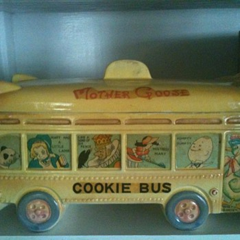 Mother Goose & Friends Cookie Jar Bus
