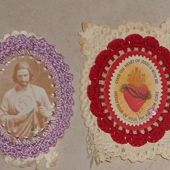 What are these?  Vintage Catholic School items? - Cards