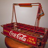 1930's Vendor Bottle Carrier - Metal/Wire