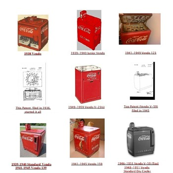 FREE – 'The' Guide, ID VENDO CHEST MACHINES, yourself - Coca-Cola