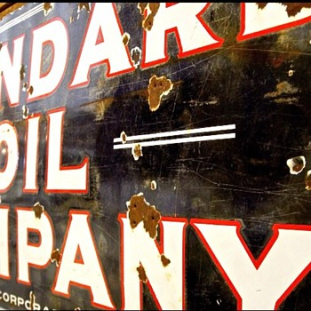 Standard Oil...love this sign!