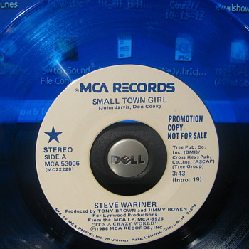 Three Promotional 45rpm&#039;s 