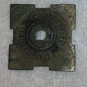 What is this old Singer MFG Co part I found