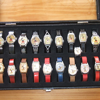 Goodie Box of Ingersoll Mickeys - Wristwatches