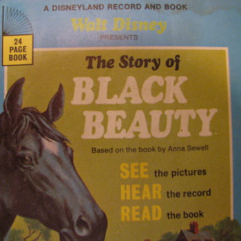 The Story of Black Beauty -- Disney Book & Record - Books