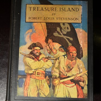 Treasure Island - 1911 version illustrated by N.C. Wyeth - Books