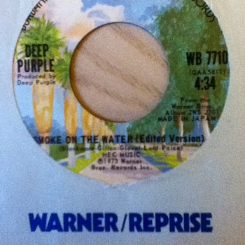 Deep Purple 45 Record - Records