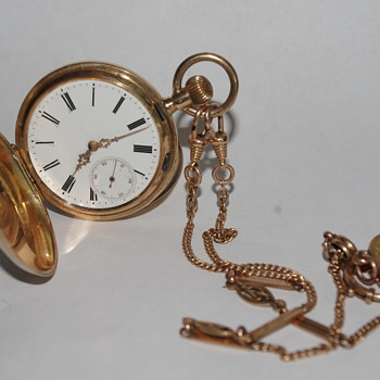 14k Pocket Watch - Pocket Watches