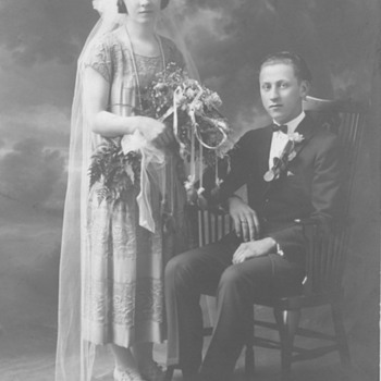 Marriage of man who owned Store Posted 1920?  - Photographs