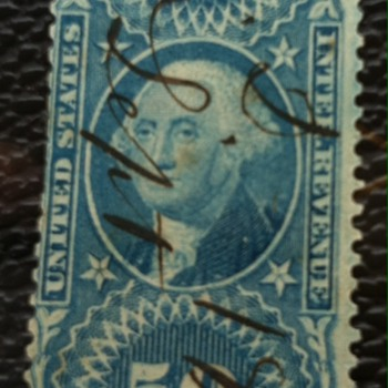 1867 Revenue Stamp - Misprint - Stamps