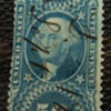 1867 Revenue Stamp - Misprint