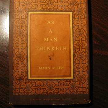 As a Man Thinketh by James Allen - Books
