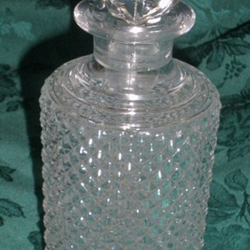 Old Baccarat bottle - Art Glass