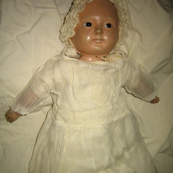 Very Old Bisque doll