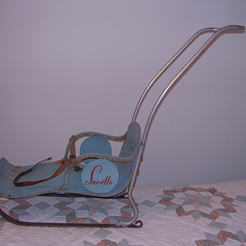 Child&#039;s Snow Sleigh