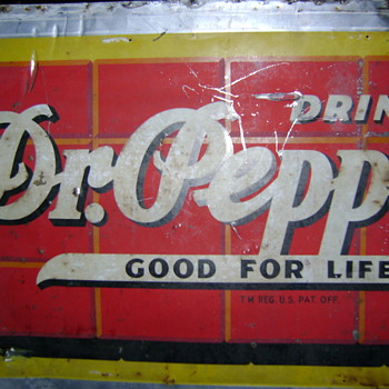 Dr. Pepper Sign (well, part anyway)