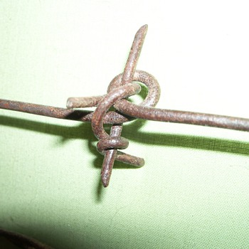 Barbed Wire of the Antique Variety - Tools and Hardware