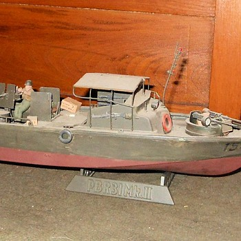 Vietnam War Navy PBR Tamiya 1/35th Sclae Model - Military and Wartime