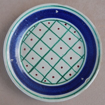 Tin Glazed Majolica Marked Italy