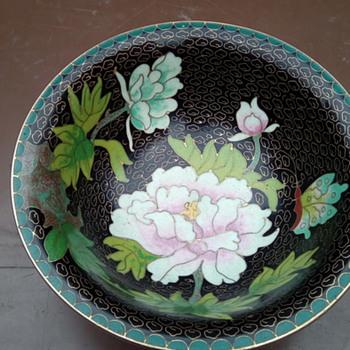 My cloisonné bowl - Asian