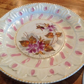 Grandmothers Wedding cake plates - China and Dinnerware