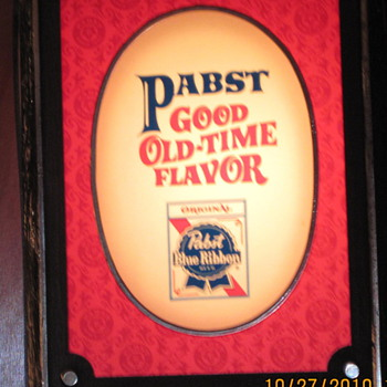 Favorite Pabst Beer Signs