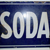 Soda Sign Porcelain Early Century