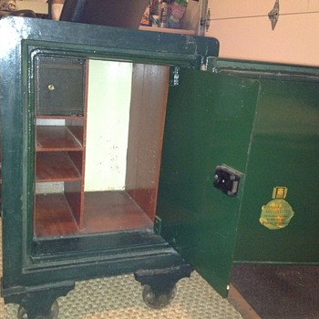 Antique Safe- Hall Marvin - Office