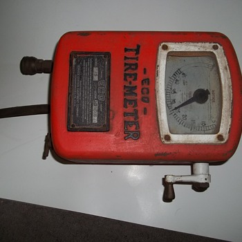 Very Early Eco Tire Meter