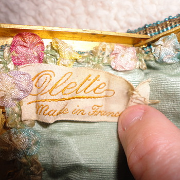 My New Old Olette Purse...does anyone know about Olette??? - Accessories
