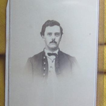 CDV of Officer in 62nd Ohio Regiment. - Photographs