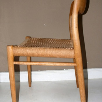 danish modern n.o. moller moeller chairs - Furniture