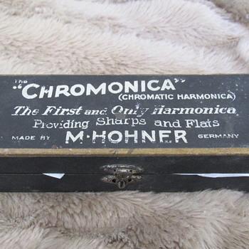 Hohner Chromatic harmonica from around 1918