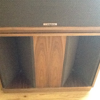 Klipsch belles 1980 - Electronics