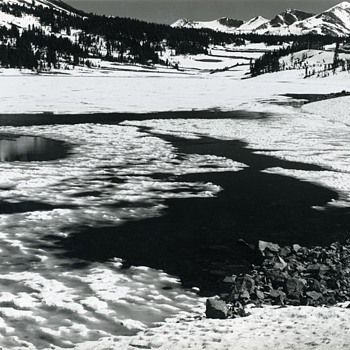 Lake Tioga – image shot with Ansel Adams at his Yosemite workshop - Photographs