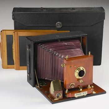 E. & H.T. Anthony Ascot Cycle, No.2 Camera. c.1899 - Cameras